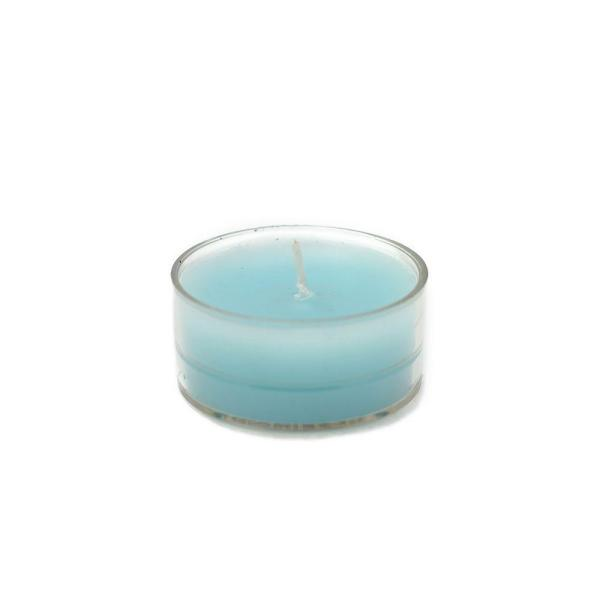 1.5 in. Turquoise Blue Tealight Candles (50-Pack)