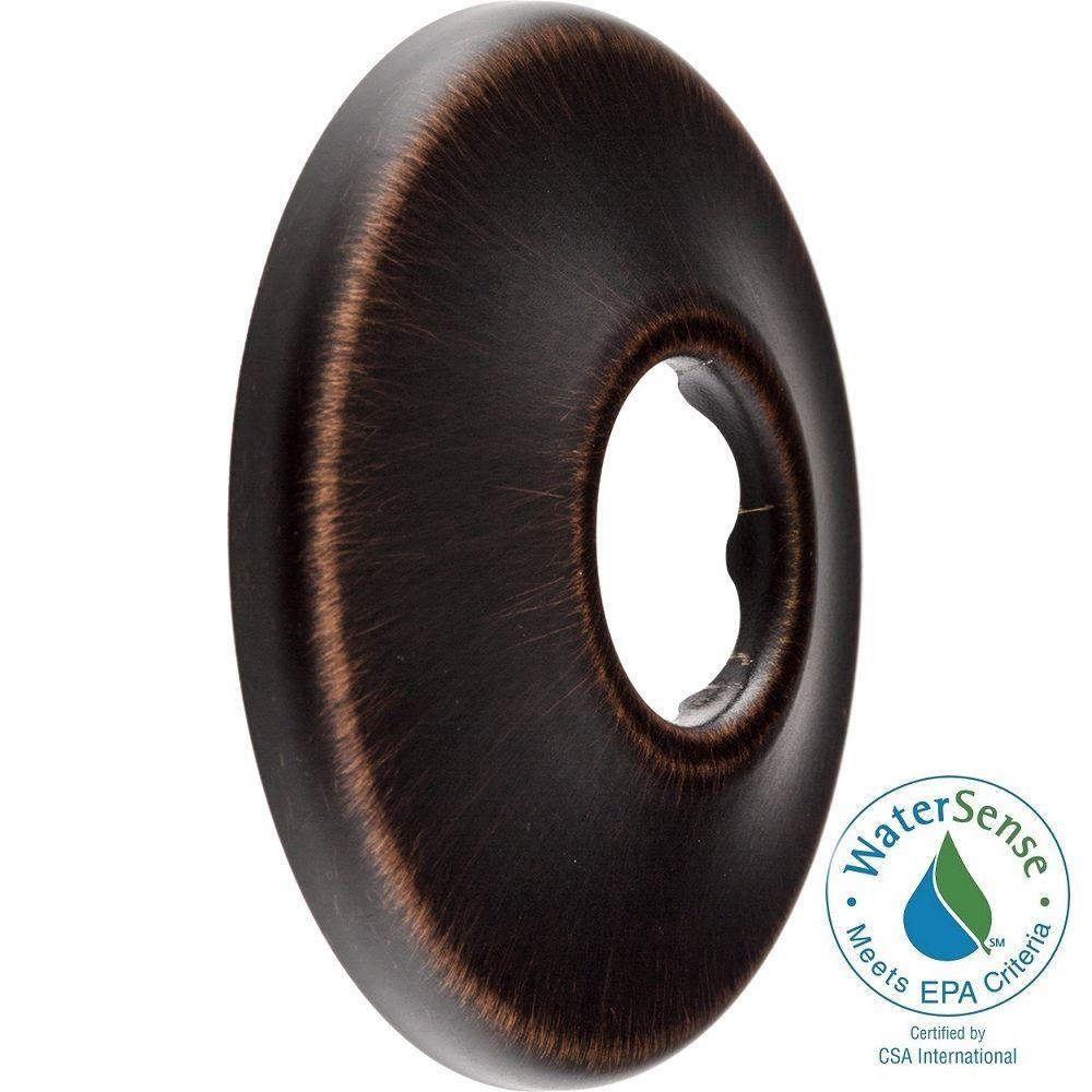 2-1/2 in. Circular Shower Arm Flange in Venetian Bronze