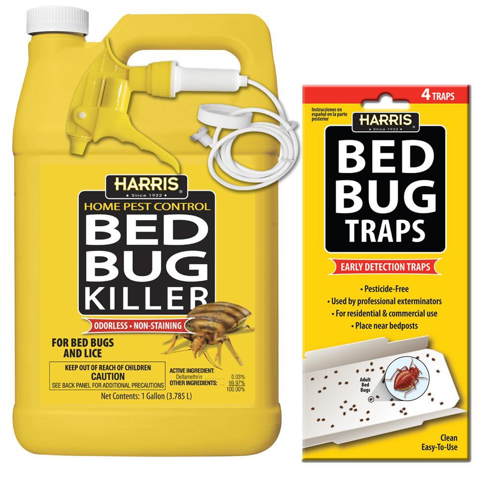 1 Gal. Bed Bug Killer and Bed Bug Trap Value Pack