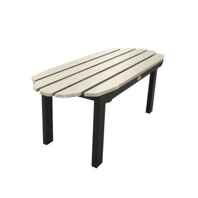 Essential Vapor Rectangular Recycled Plastic Outdoor Coffee Table