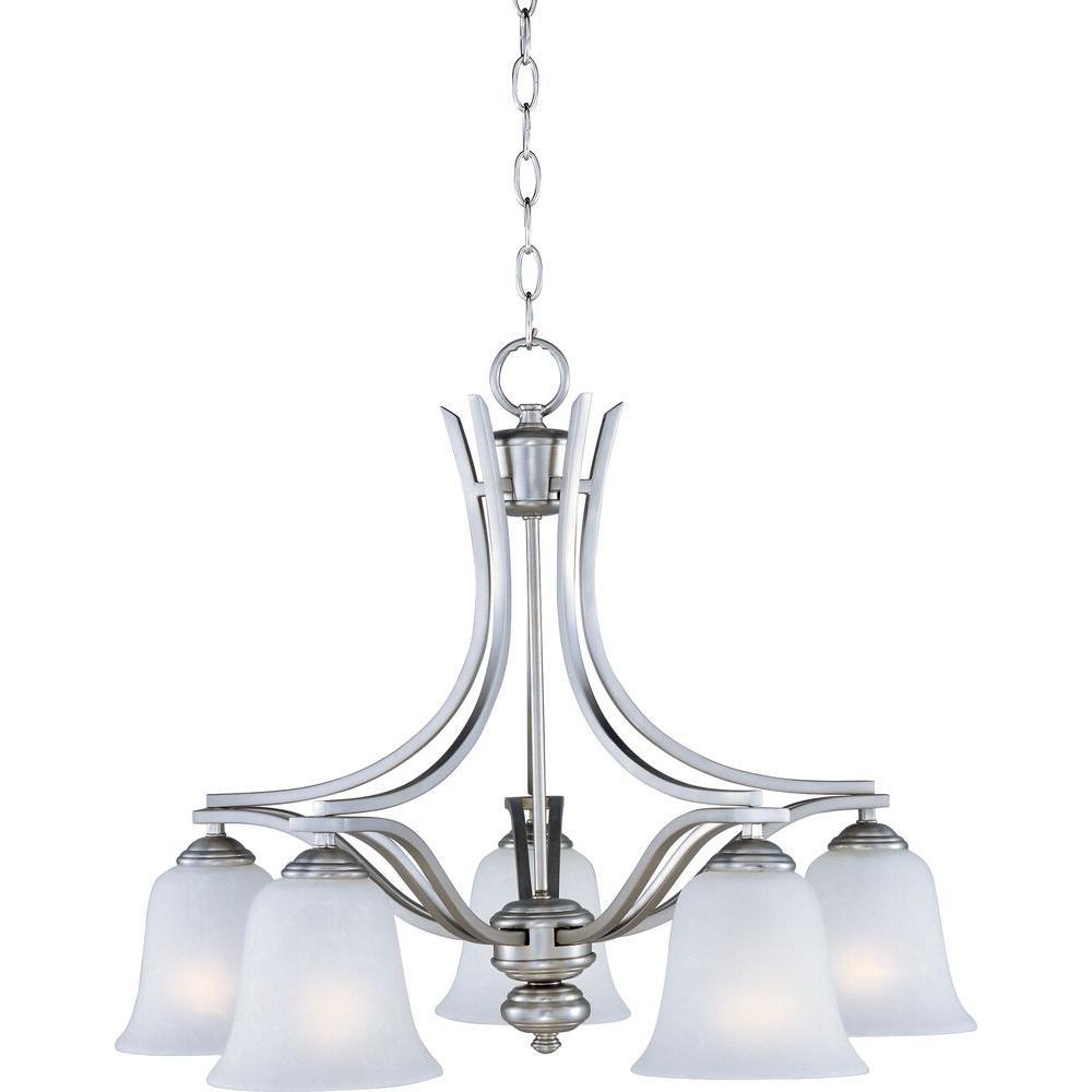 Maxim lighting madera 5 light satin silver down light chandelier maxim lighting madera 5 light satin silver down light chandelier aloadofball Choice Image
