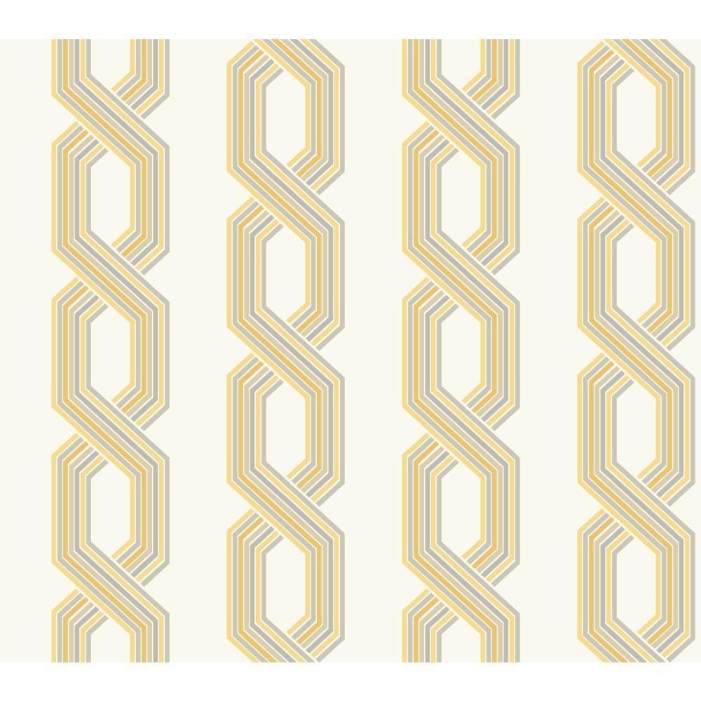 Ashford Geometrics Retro Links Wallpaper