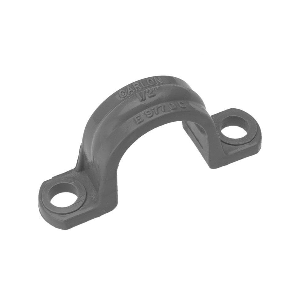 Carlon 2-1/2 in. PVC Conduit Clamp (Case of 25)