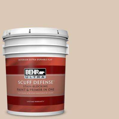 5 gal. #MQ3 - 09 Loft Light Extra Durable Flat Interior Paint and Primer in One