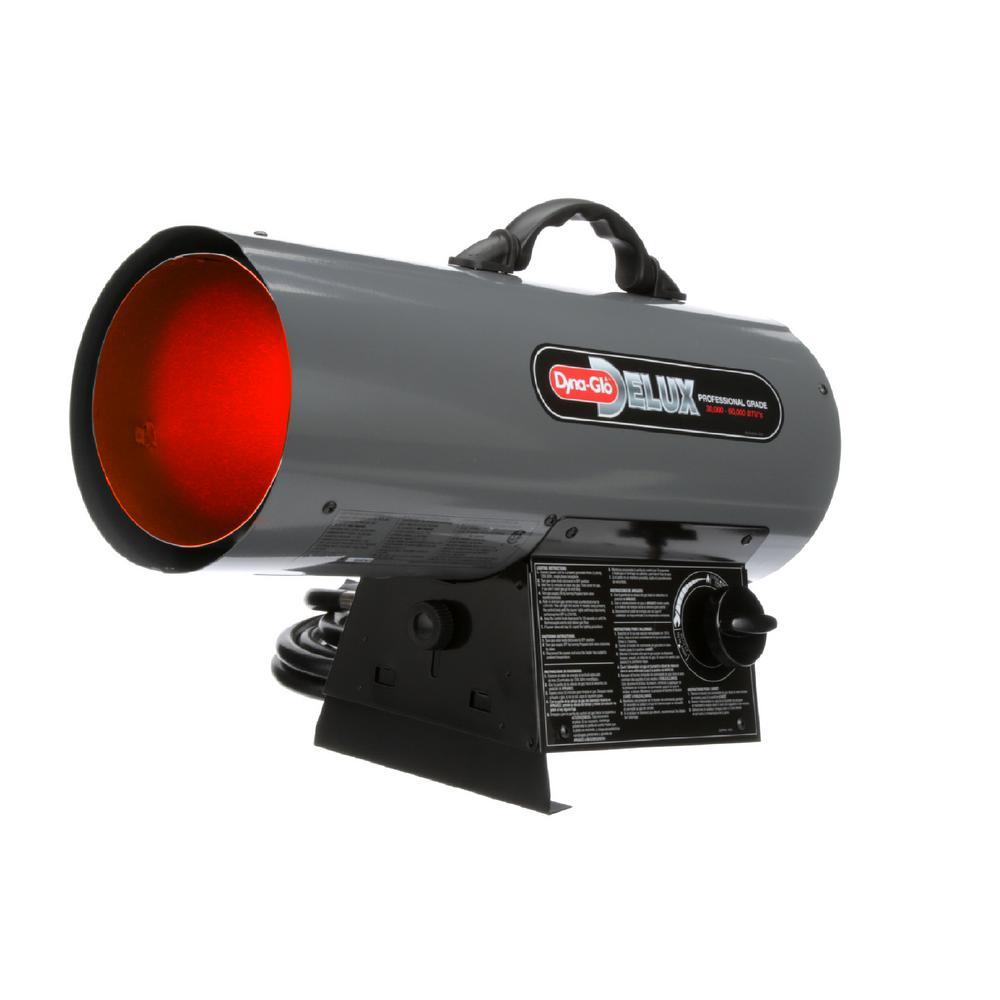 30K-60K BTU LP Forced Air Propane Portable Heater