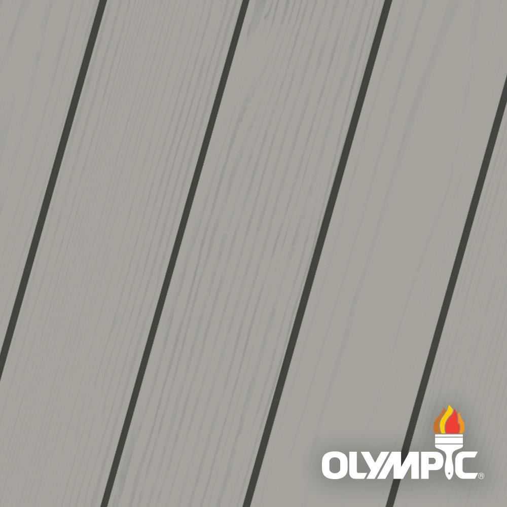 Olympic Maximum 5 Gal Phoenix Fossil Solid Color Exterior Stain And Sealant In One Oly305 05