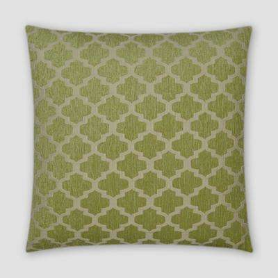 Keaton Green Feather Down 18 in. x 18 in. Standard Decorative Throw Pillow