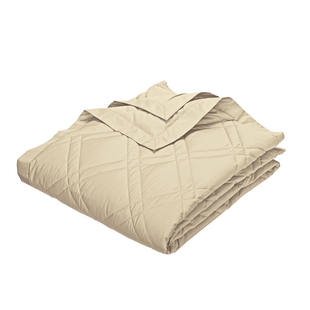 PrimaLoft Deluxe Alabaster Down King Classic Blanket