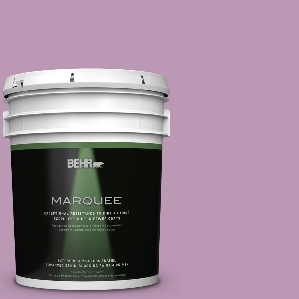 BEHR MARQUEE 5-gal. #M110-4 Cherished Semi-Gloss Enamel Exterior Paint