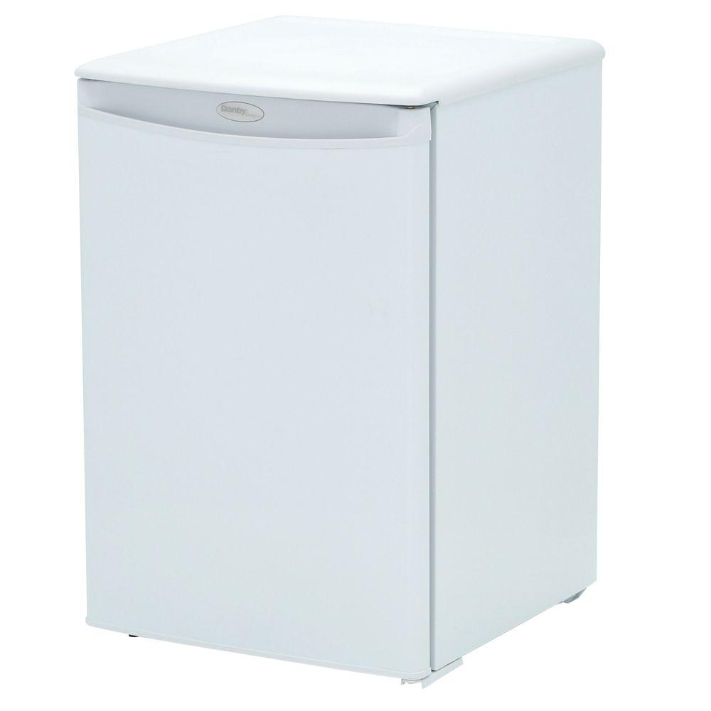 e1473a8e095 Danby 2.6 cu. ft. Mini Fridge in White-DAR026A1WDD-3 - The Home Depot
