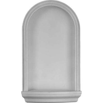 17-7/8 in. x 8 in. x 30-3/8 in. Primed Polyurethane Recessed Mount Kent Wall Niche