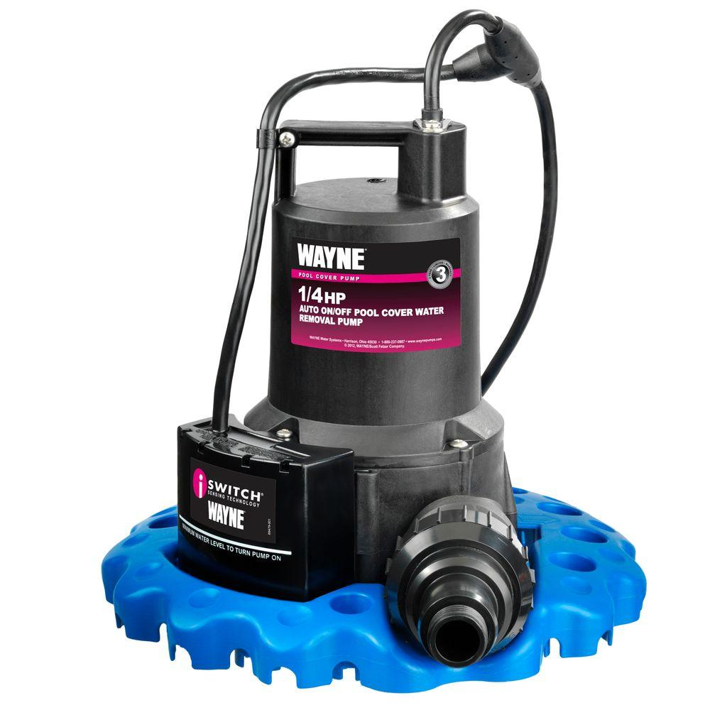 Wayne 1 4 Hp Auto On Off Pool Cover Water Removal Pump
