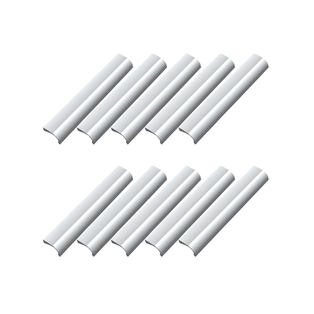 Center To Satin Aluminum Cabinet Hardware Pull Value Pack 10 Per