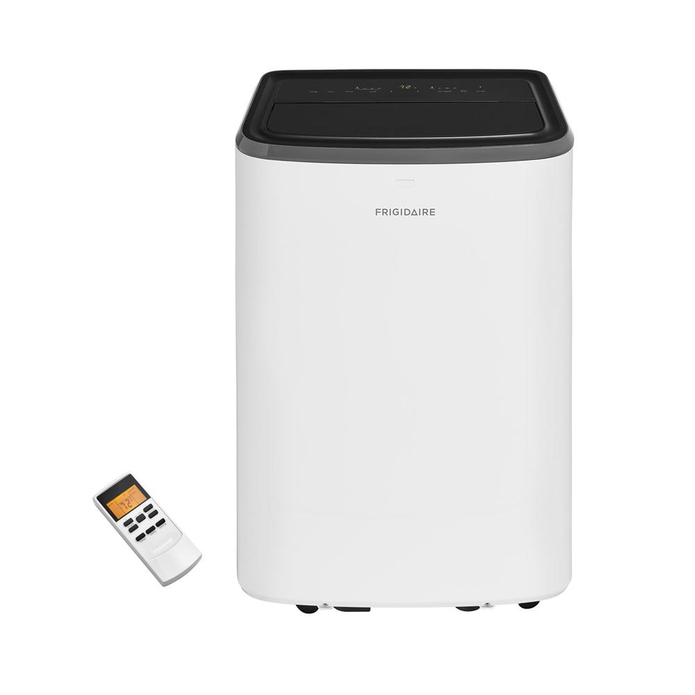 frigidaire 8000 btu portable air conditioner with remote control for rooms up to 350 sq ft. Black Bedroom Furniture Sets. Home Design Ideas