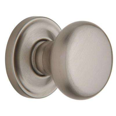 Estate Classic Satin Nickel Half-Dummy Knob