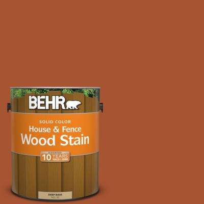 1 gal. #SC-136 Royal Hayden Solid Color House and Fence Exterior Wood Stain