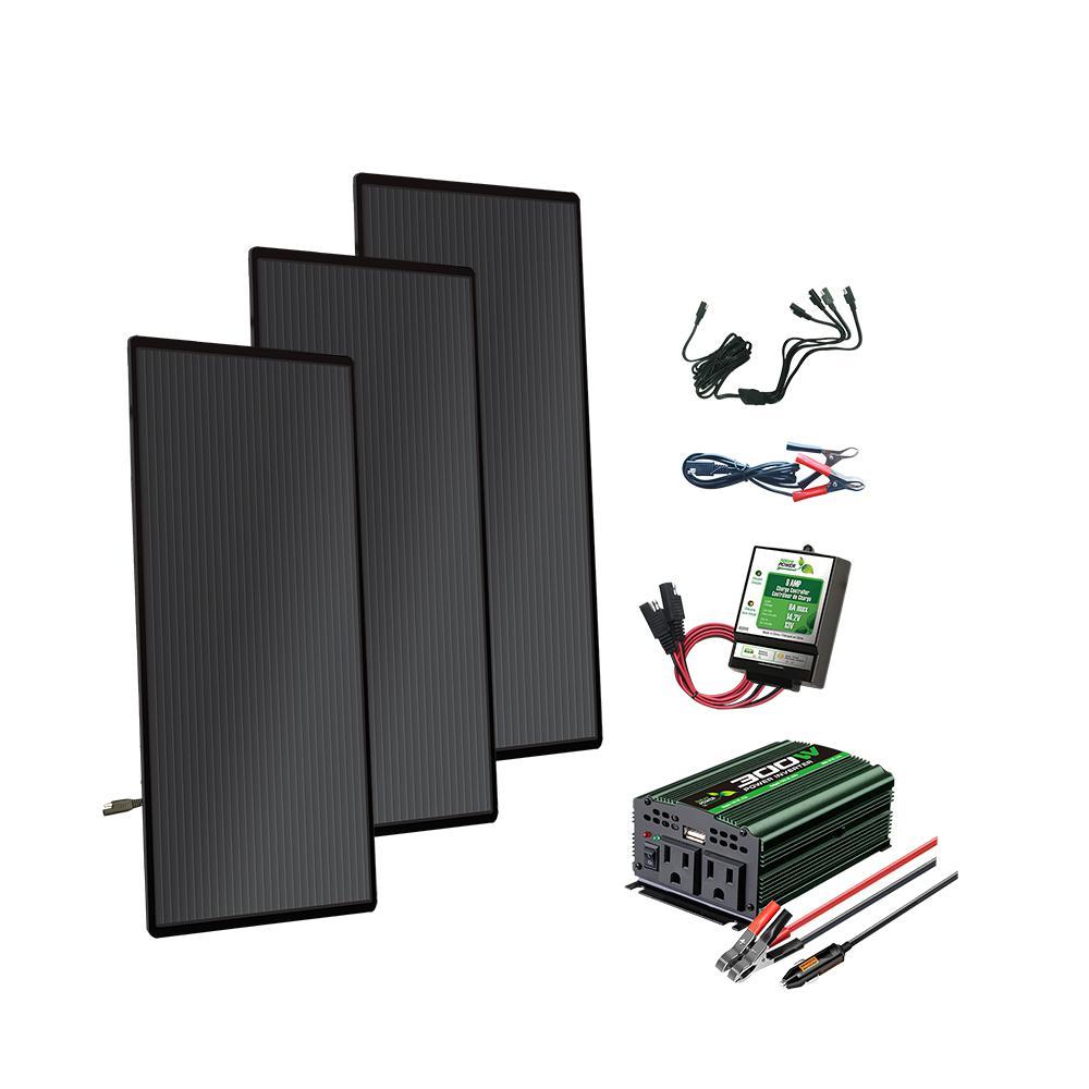 66-Watt Amorphous Solar Panel Kit
