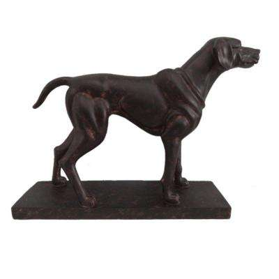 12.4 in. Standing Dog Statuette