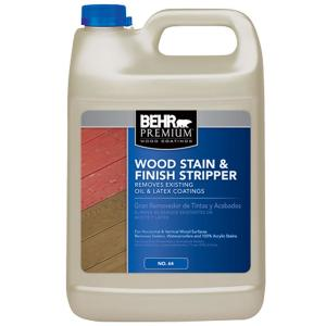 f9a8489972b4 BEHR Premium 1-gal. All-In-One Wood Cleaner-06301N - The Home Depot