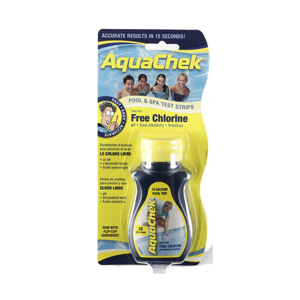 Aquachek Pool Chlorine Test Strips Pack