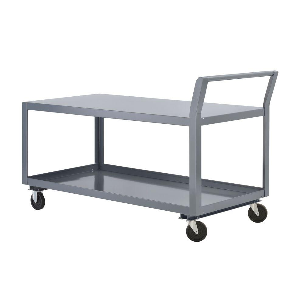 Edsal 36 in. W All Purpose Heavy Duty Welded Truck and Utility Cart