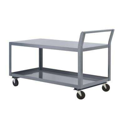 36 in. W All Purpose Heavy Duty Welded Truck and Utility Cart