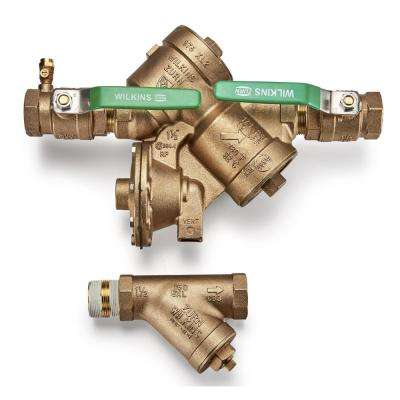 Reduced Pressure Principle Backflow Preventer