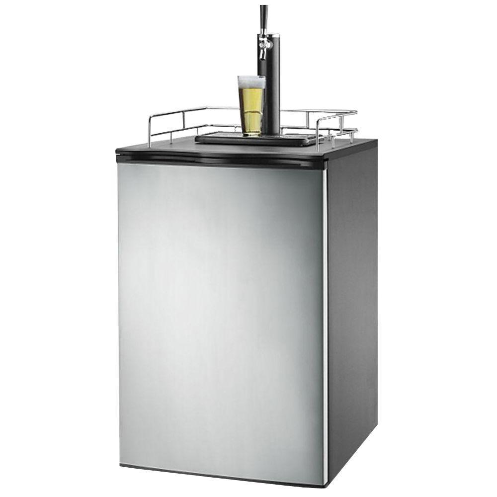 igloo 6 0 cu ft beer keg dispenser frb200 the home depot