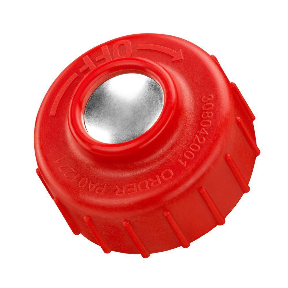 Left-Hand Thread Spool Retainer