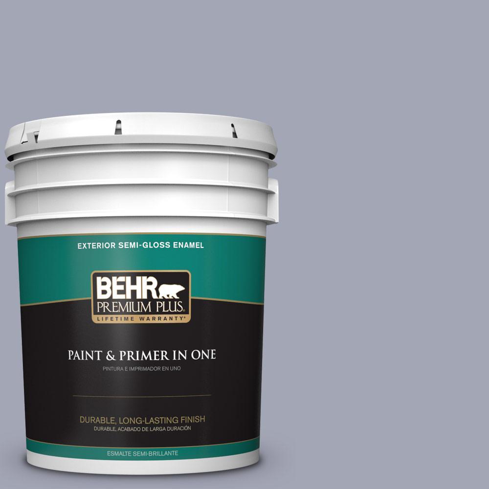 5 gal. #PPU15-11 Great Falls Semi-Gloss Enamel Exterior Paint