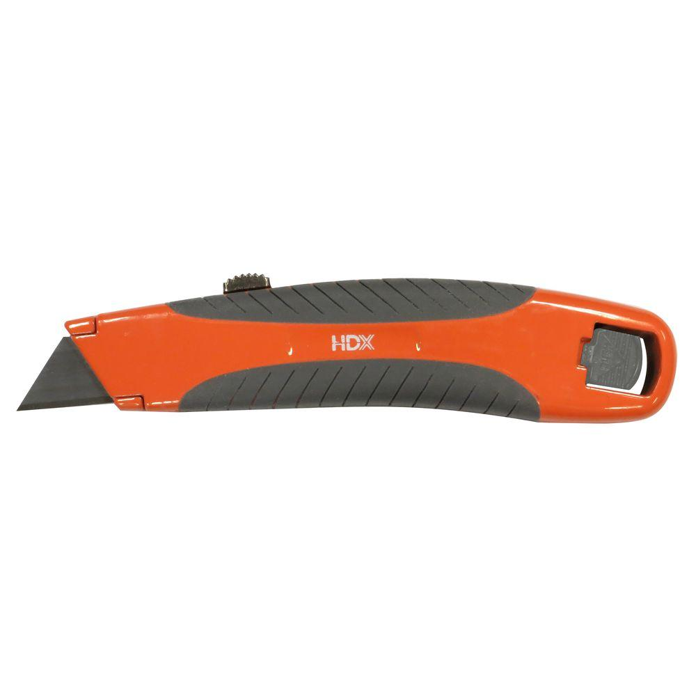 Utility Knife With 3 Blades Rsk Hdx