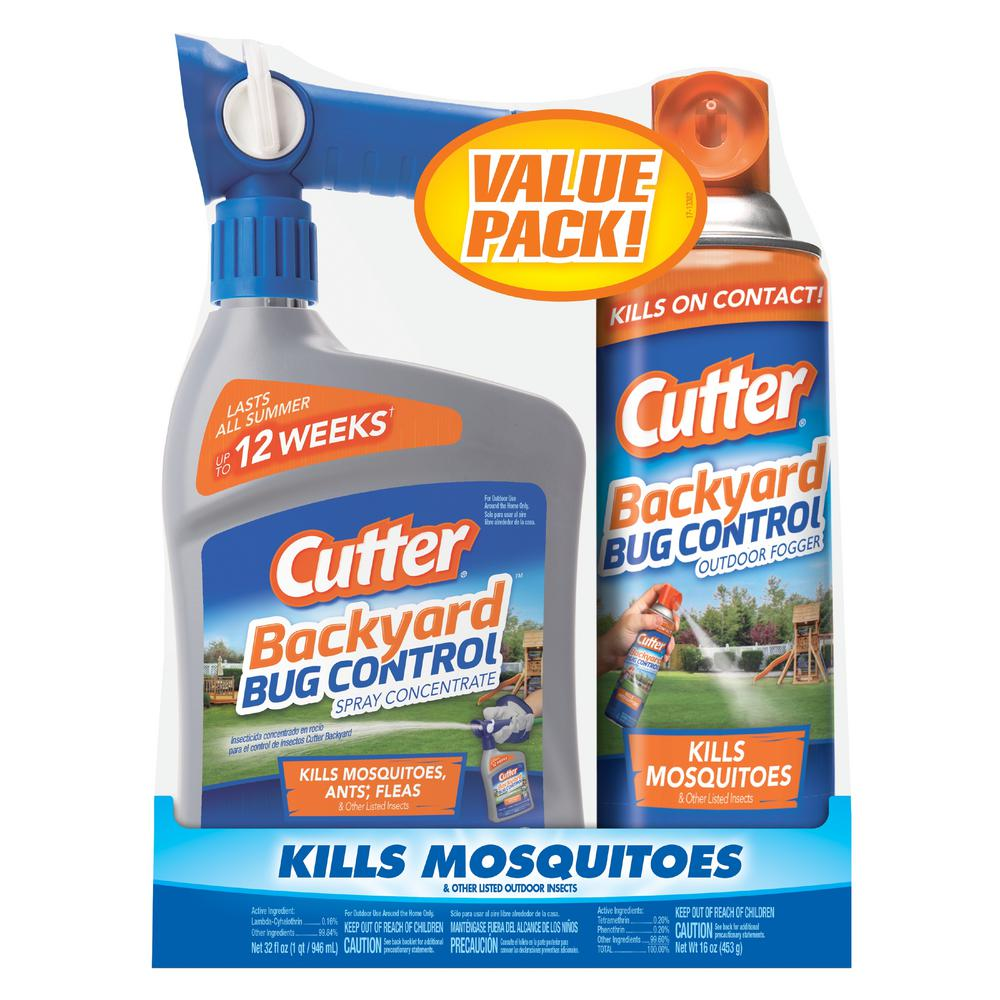 Cutter Backyard Complete Bug Control Combo Pack-HG-65744HD ...