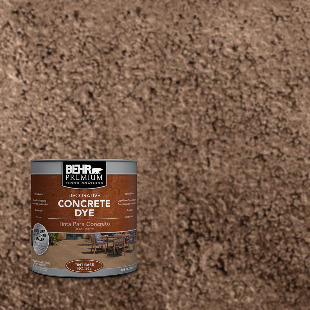 BEHR Premium 1 qt. #CD-833 Cinnamon Stone Concrete Dye