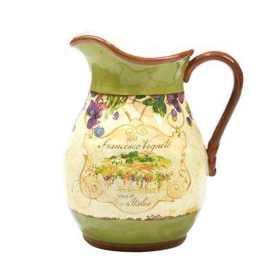 Vino 3 Qt. Multi-Colored Pitcher
