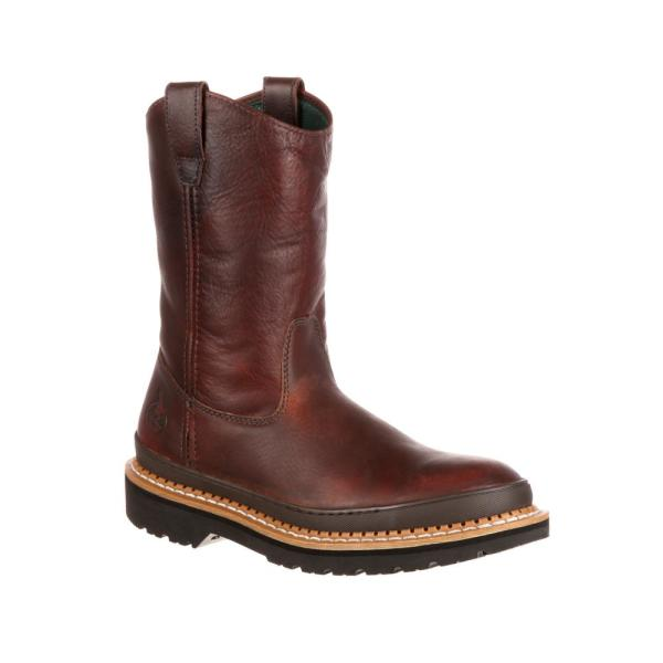 Work Boots - Steel Toe - SOGGY Brown
