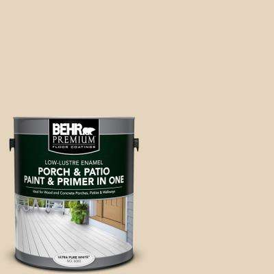 1 gal. #PFC-11 Inviting Veranda Low-Lustre Interior/Exterior Paint and Primer In One Porch and Patio Floor Paint