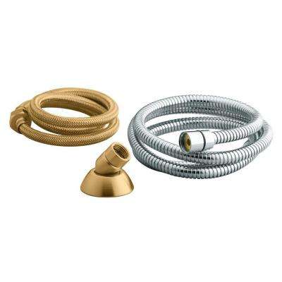 3-Way Handshower Hose Guide in Vibrant Brushed Bronze