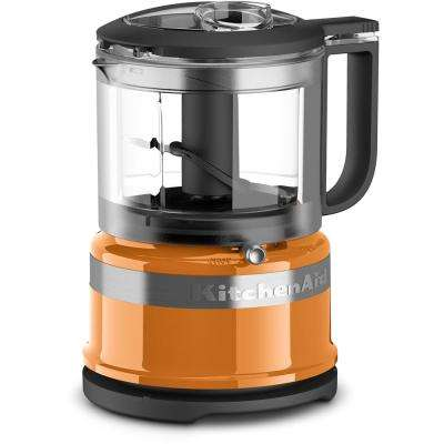 Mini 3.5-Cup 2-Speed Tangerine Food Processor with Pulse Control