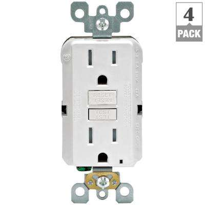 Leviton wiring devices light controls electrical the home depot 15 amp 125 volt duplex smartest self test smartlockpro tamper resistant gfci outlet publicscrutiny Image collections