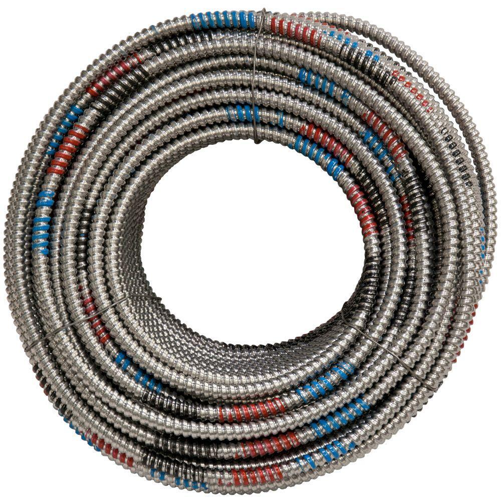 12/4-Gauge x 250 ft. MC Lite Cable