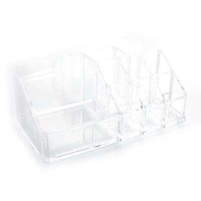 4 in. x 3 in. x 7 in. SF-1032 Transparent Plastic Cosmetics Storage Drawer