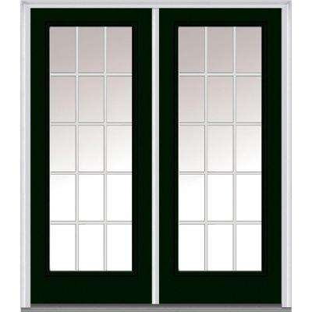 Hunter Green - Front Doors - Exterior Doors - The Home Depot