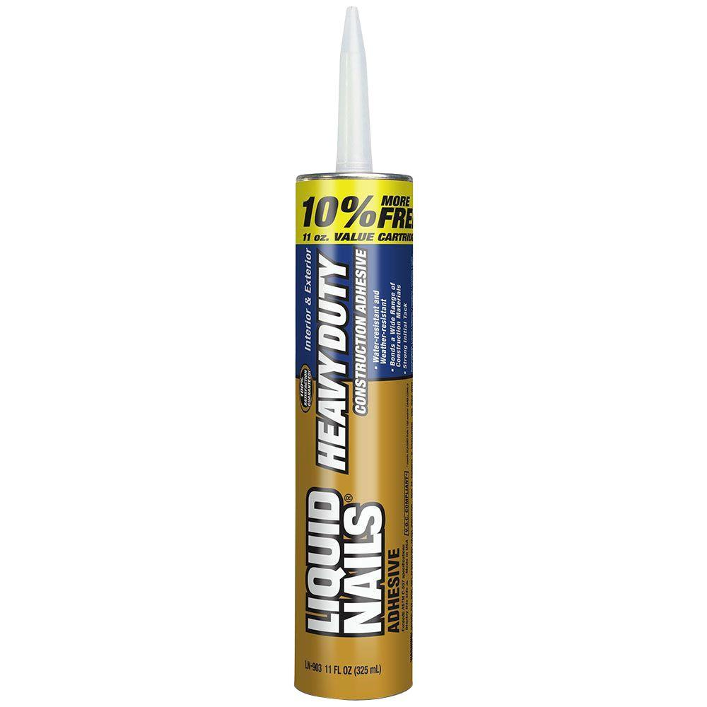11 oz. Heavy Duty Construction Adhesive Bonus Tube (24-Pack)