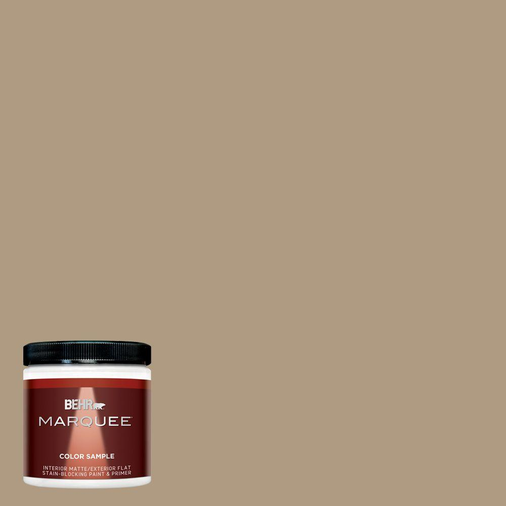8 oz. #MQ2-24 Golden Olive Interior/Exterior Paint Sample