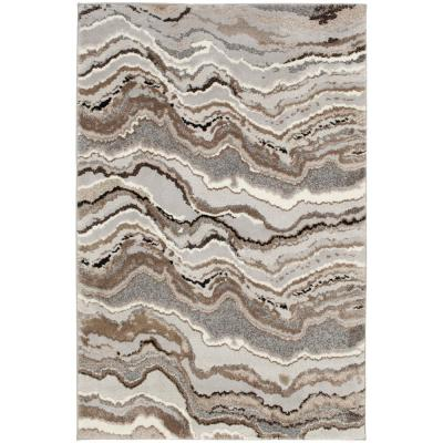 Marble Multi 5 ft. 3 in. x 7 ft. 4 in. Area Rug