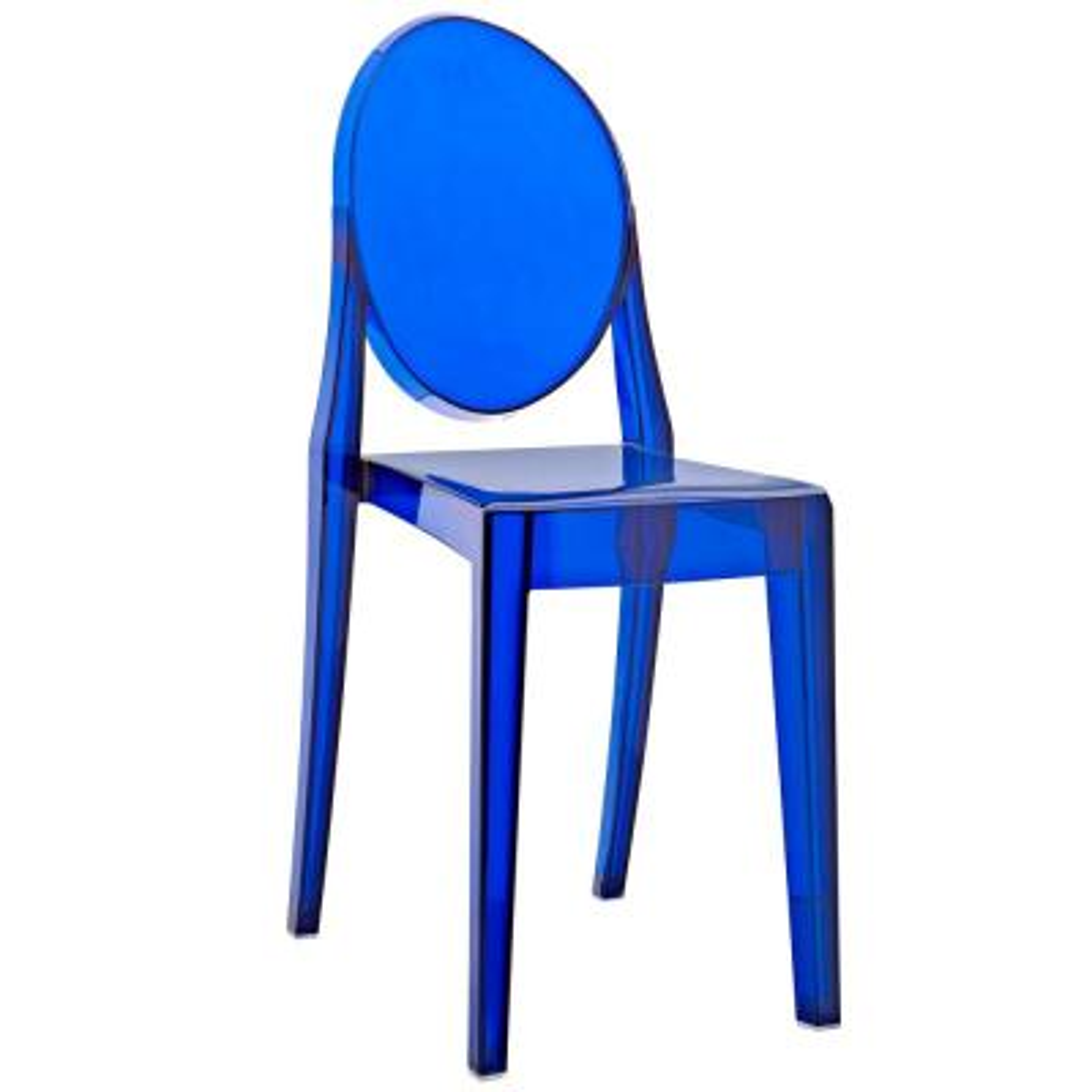 Casper Blue Dining Side Chair
