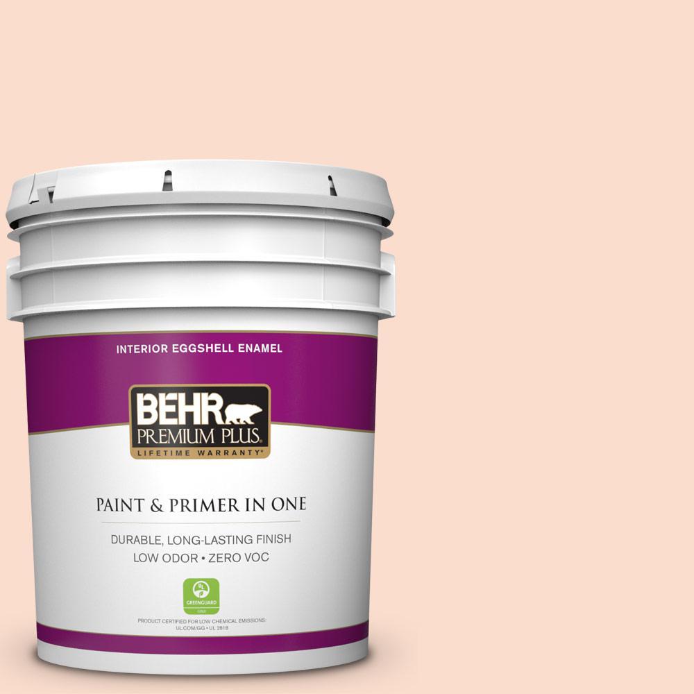 BEHR Premium Plus 5-gal. #230A-2 Beach Trail Zero VOC Eggshell Enamel Interior Paint