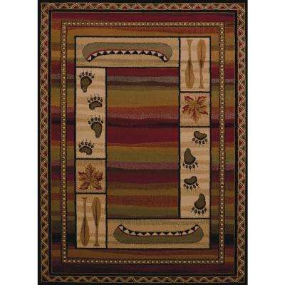 Affinity Canoe Sunset Lodge 7 ft. 10 in. x 10 ft. 6 in. Area Rug
