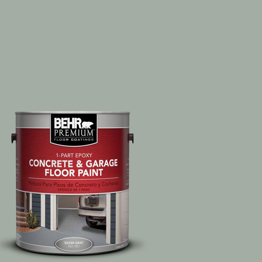 BEHR Premium 1-Gal. #PFC-42 Flintridge 1-Part Epoxy Concrete and Garage Floor Paint