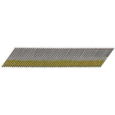 2-1/2 in. x 15-Gauge Galvanized Angled Nails (2500-Pieces)